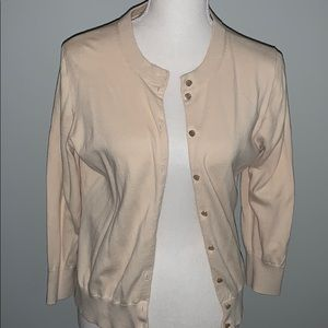 Jcrew Women's Clare Cotton Cardigan Large